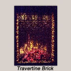 Travertine Brick Liner