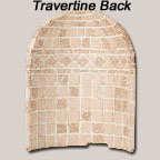 Travertine Back
