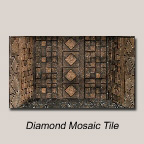 Diamond Mosaic Tile Back