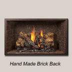 Hand Made Brick Back