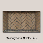 Herringbone Brick Back