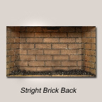 Stright Brick Back