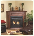 "Picture of Empire Breckenridge Deluxe Vent Free Fireplace 36"" Empire Breckenridge Deluxe Vent Free Fireplace"