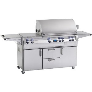 Picture of Firemagic Echelon Diamond E660S Cabinet Gas Grill With Double Side Burner