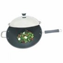 "Picture of Fire Magic 3572 15"" Wok with Stainless Steel Cover"