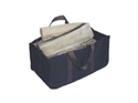 Picture of Jumbo Log Carrier Black with Brown Handles