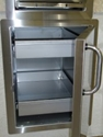 Picture of Fire Magic 33820S Select Single Access Door with Dual Drawers, Enclosed with Right or Left Hinge