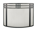 Picture of Gridwork 3-Fold/Curved Screen - Black