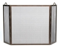 Picture of Twisted Rope 3-Fold Screen - Bronze
