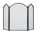 Picture of Arched Front & Sides 3-Fold Screen - Graphite & Pewter