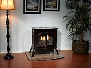 Picture of Empire Heritage 25,000 BTU Cast Iron Vent-Free Gas Stove