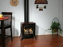 Picture of Empire Heritage Small Cast Iron 20,000 BTU DV Gas Stove